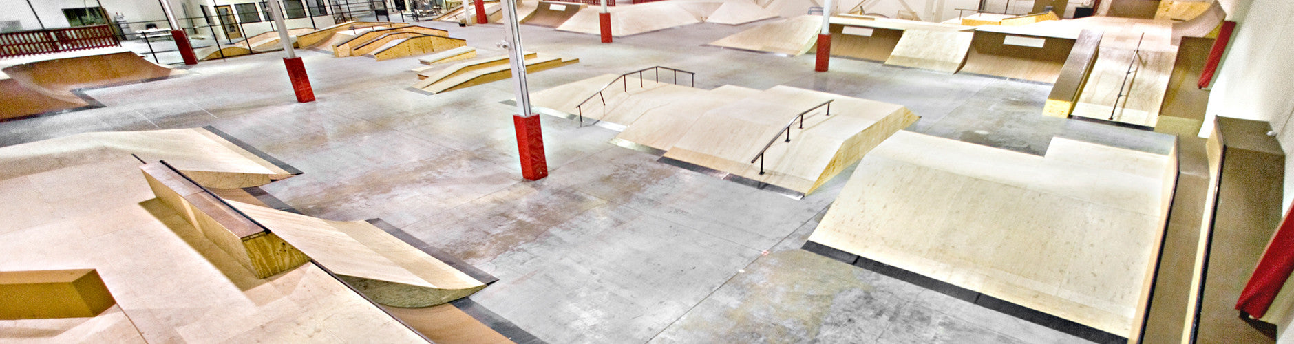 Over 1 acre of ramps and rails!