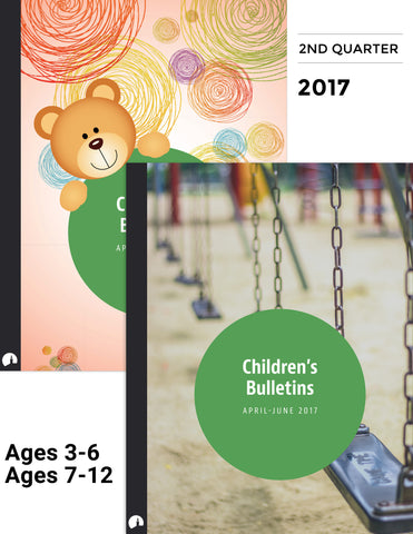 April-June 2017: Children's Bulletins