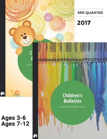 July-September 2017: Children's Bulletins