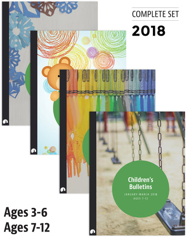 2018 Complete Set: Children's Bulletins