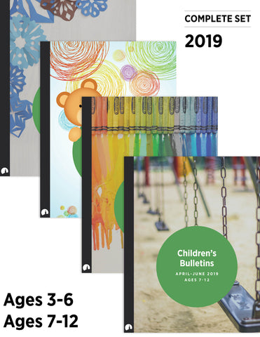 2019 Complete Set: Children's Bulletins