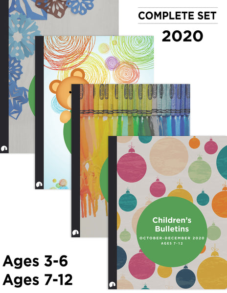 2020 Complete Set: Children's Bulletins