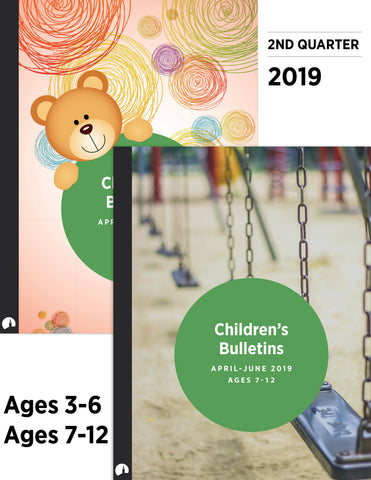 Children's Bulletins - April-June 2019