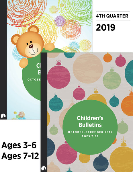 Children's Bulletins - October-December 2019