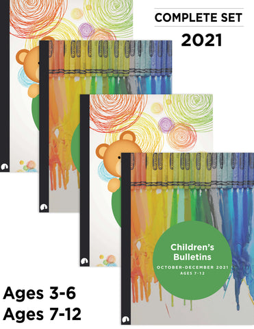 2021 Complete Set: Children's Bulletins