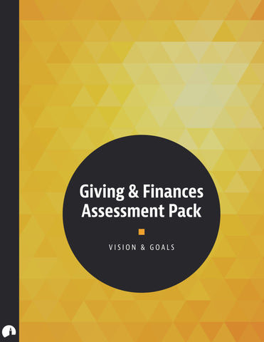 Giving & Finances Assessment Pack