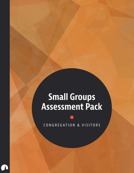 Small Groups Assessment Pack
