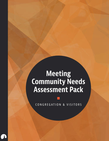 Meeting Community Needs Assessment Pack