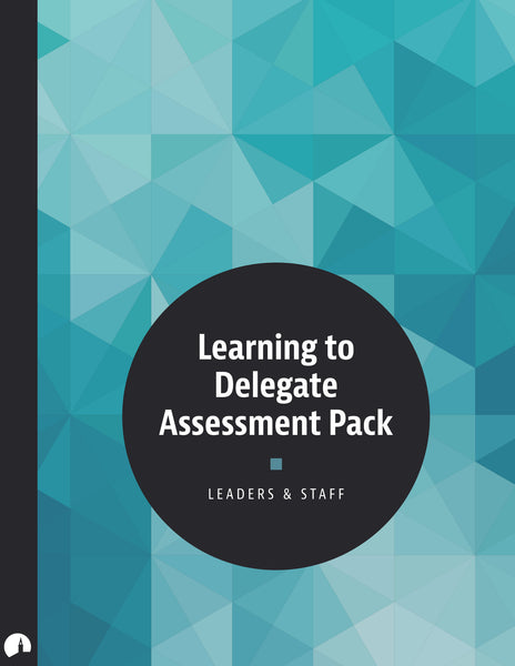 Learning to Delegate Assessment Pack
