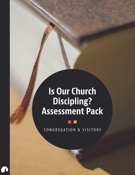 Free Sample - Is Our Church Discipling? Assessment Pack