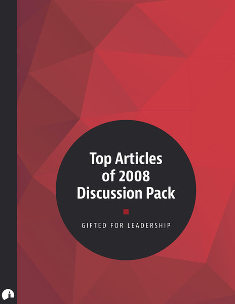 Top Articles of 2008 Discussion Pack