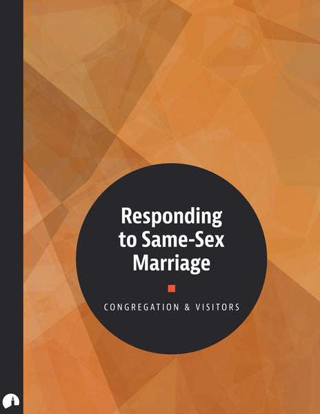 Responding to Same-Sex Marriage