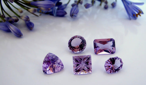 The gem in spotlight this month is the amethyst, one of the most sought after gemstone in the jewellery industry.