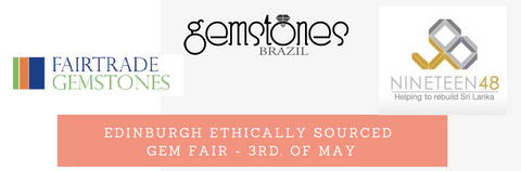Edinburgh ethically sourced gem fair