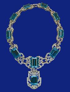 Productlectedvarianttitle gemstones brazil however nowadays the popularity of aquamarine among the royalties remains in 1953 the newly crowned queen elizabeth was given this necklace and matching aloadofball Image collections