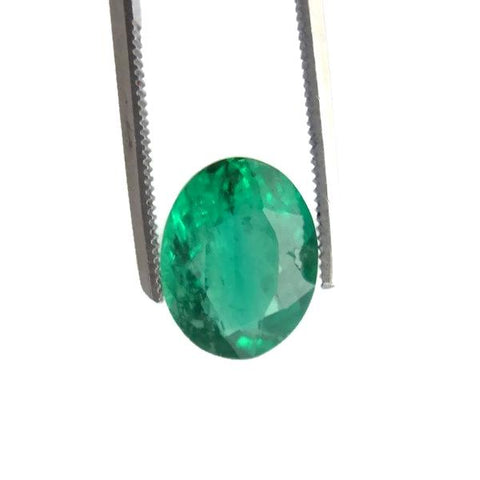 emerald oval cut 11x8.5mm extra-quality gemstone