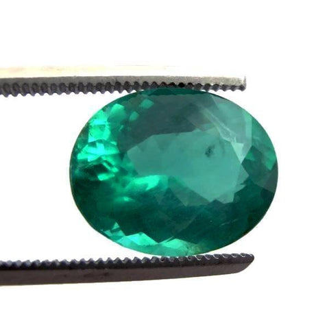 extra-quality extraordinary emerald oval cut 12x10mm loose gem