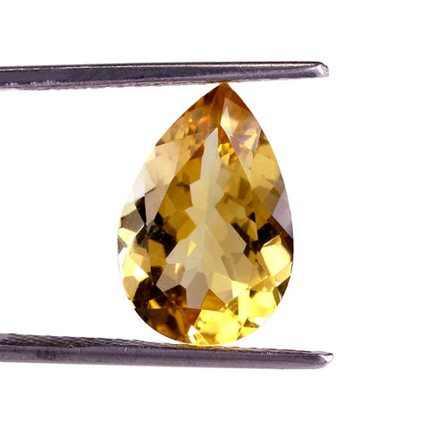 Citrine pear cut - 14x10mm