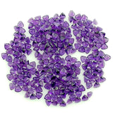 amethyst trillion cut 3mm natural gem