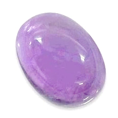 Amethyst cabochon oval shape -  23x17mm