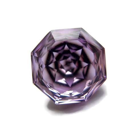 amethyst octagon fancy cut 12mm loose gemstones