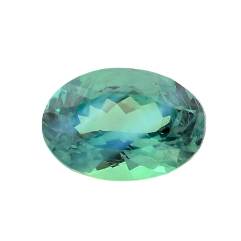Alexandrite oval cut - 6.4 x 4.4 mm