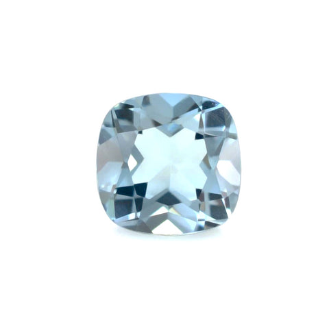 Aquamarine cushion cut - 10mm