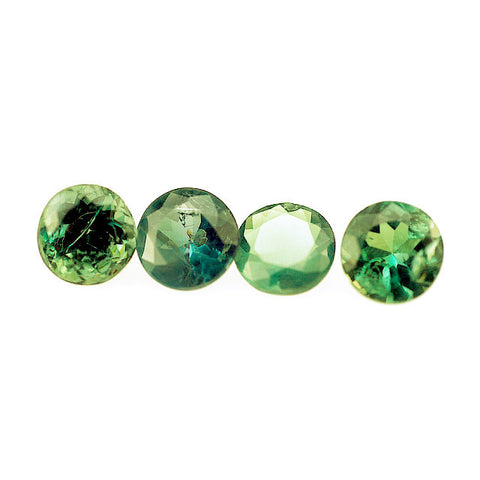 Natural alexandrite round cut 3mm gemstones
