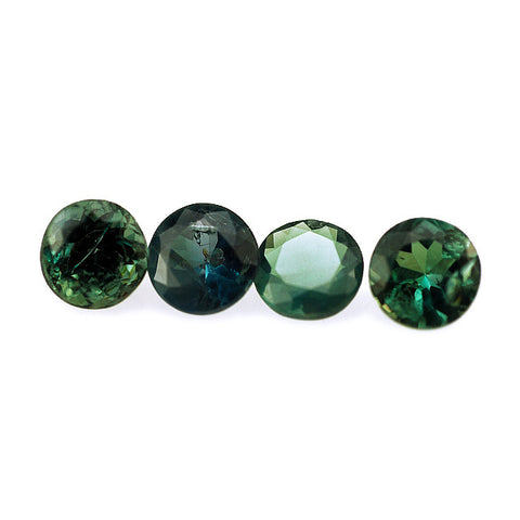Natural alexandrite round cut 4mm gemstones