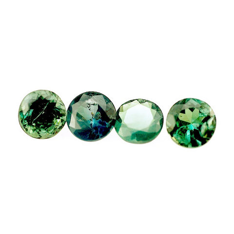 Natural alexandrite round cut 1.5mm gemstone