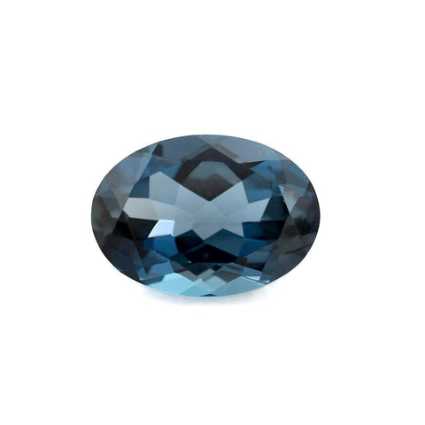 natural london blue topaz oval cut 10x8mm loose gemstone