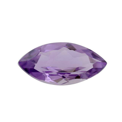amethyst marquise cut 14x7mm natural gem