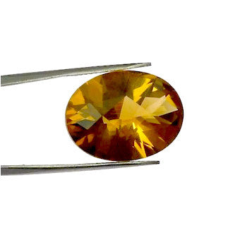 Citrine oval cut - 20 x 15 mm