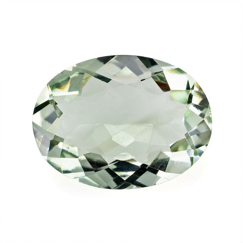 green amethyst prasiolite oval cut 20x15mm gemstone
