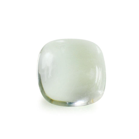 Green amethyst cushion cut - 10mm (cabochon)