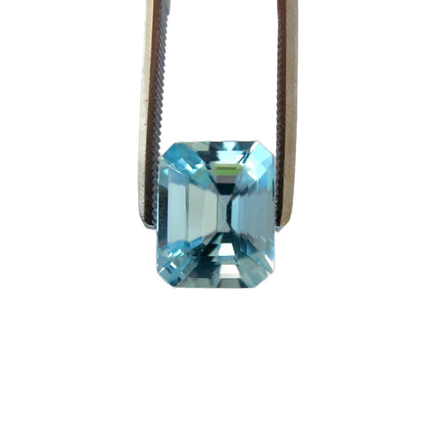 aquamarine octagon cut 10x8mm loose gemstone AAA