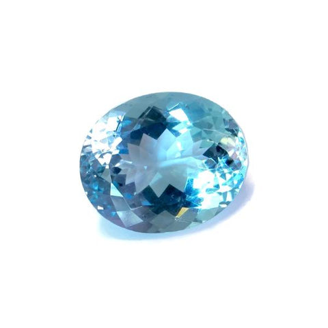 aquamarine extra-quality deep blue 20x16mm AAAA gemstone