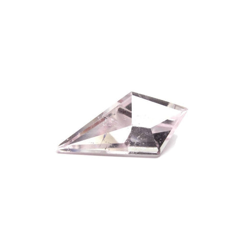 morganite free-form kite cut 20x10mm loose gemstone