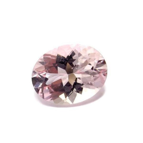 Morganite oval cut - 9x7mm (Pink-peach)