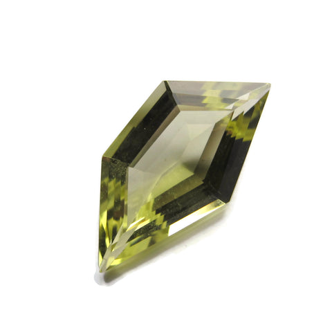 Lemon quartz yellow pentagon free-form 9mm loose gemstone