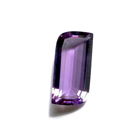 amethyst free-form 20x10mm gemstone