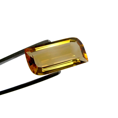 citrine golden yellow navette free-form 20x10mm loose gemstone