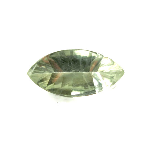 green amethyst quartz prasiolite marquise mirror buff-top 14x7mm gemstone