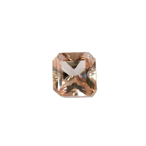 morganite octagon square cut 8mm loose gemstone