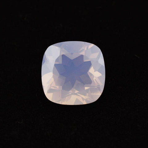 lavender quartz cushion cut 9mm loose gemstone