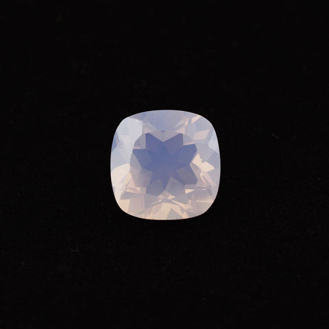 Lavender quartz cushion cut - 12mm