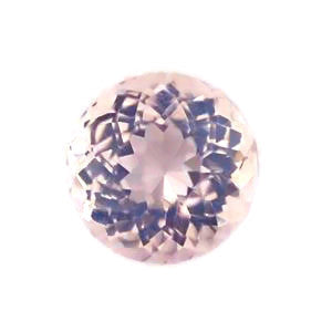 natural rose quartz round portuguese cut gemstone 6mm