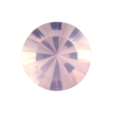 Rose Quartz - round cut - 3mm (mirror cut)