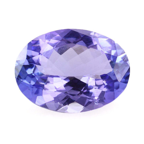 Tanzanite oval cut 10x7.5mm beautiful gemstone