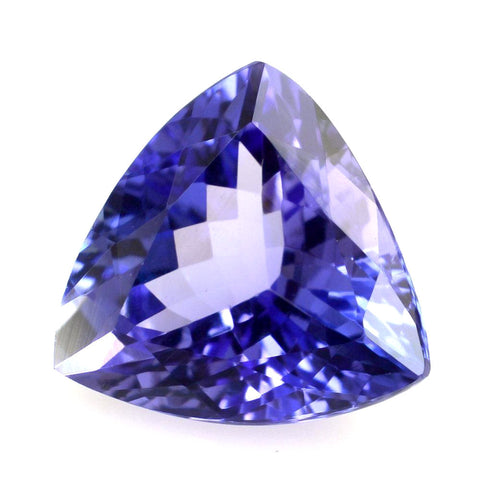 Tanzanite trillion cut 9mm natural loose gemstone